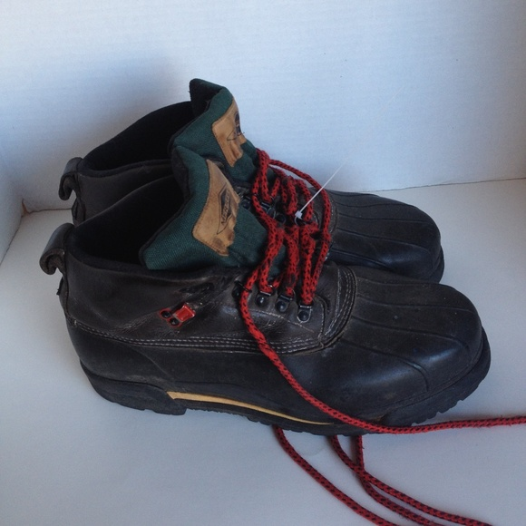 authorized site latest selection 100% genuine MERRELL ALASKA BROWN LEATHER SNOW WINTER DUCK BOOT